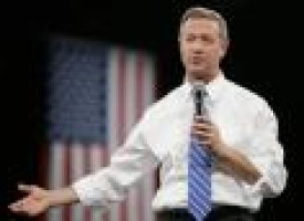 Martin O'Malley gets his opening, at last